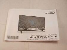 VIZIO SPANISH INSTRUCTION MANUAL FROM D32-D1