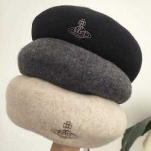 Vivienne Westwood Women Wool Beret Hat