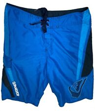Quicksilver Board Shorts Swim Trunks Tagged 30 Men's Blue