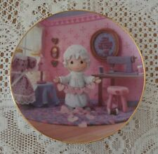 Precious Moments Classics Plate Collection You Have Touched So Many Hearts