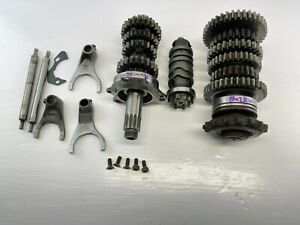 OEM 99-02 YAMAHA YZF R6 ENGINE MOTOR TRANSMISSION TRANNY GEARS