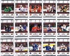 2017-18 UD Tim Hortons Game Day Action Complete Set (15 Cards)