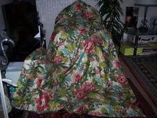 Sanderson Floral Curtains with Pencil Pleat