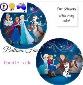 45cm NEW DISNEY OLAF FROZEN MOVIE BALLOON BIRTHDAY PARTY SUPPLIES ELSA ANNA