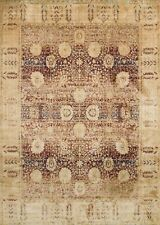 7'x10' Loloi Rug Anastasia Polypropylene & Polyester Red Gold Machine-made Trans