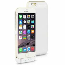 10000MAH External Battery Charging Power Case  Cover For iPhone 6/7 Plus White