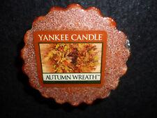 Yankee Candle Set of 3 Autumn Wreath Tarts Wax Melts NEW