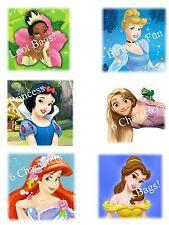 60 Disney Princess Temporary Tattoos Party Favors Birthday Loot Bags 10 x 6 pics