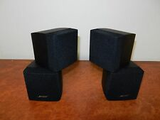 """BOSE DOUBLE CUBE SPEAKERS x2 in Good Condition """"""""Genuine Bose Made"""""""""""
