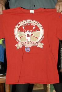 Joe Montana Legends of Candlestick Park T shirt july 2014 Large Near mint NFL