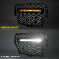 Xprite Steel Mesh Grille w/ LED Light Bar for 17-18 Polaris RZR XP 1000 Turbo
