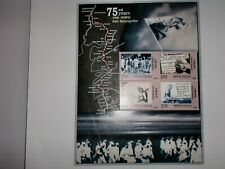 "INDIA STAMPS-MINIATURE SHEET- ""75 YEARS SALT SATYAGRAHA""-'MG's DANDI MARCH -2005"