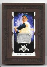 Roger Maris 2015 Diamond Kings Mini Game Used Jersey /49 New York Yankees