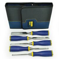 💙 IRWIN® Marples® MS500 5 Piece Chisel Set in Wallet 6mm 10mm 13mm 19mm 25mm