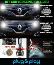 RENAULT CAPTUR ANABBAGLIANTI + ABBAGLIANTI LAMPADE LED NO AVARIA 16.000LM