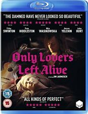 Only Lovers Left Alive Blu-ray 2014 DVD Region 2