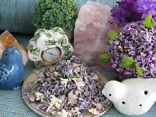 NEW NATURAL DRIED WHITE & PURPLE LILAC FLOWERS & BUDS--PERFECT FOR POTPOURRI!