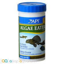 API Algae Eater Wafers Tropical Fish Food 6.4oz (181g) Freshwater Saltwater Fish
