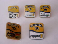 CAMEL 5 pins F1 - Benetton - Prost - Cannon
