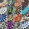 "Wholesale Lot Natural Stone Gemstone Round Loose Beads 15.5"" 4mm 6mm 8mm 10mm"