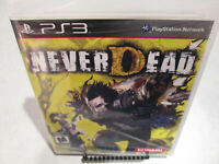 NeverDead Sony PlayStation 3 PS3 Brand New Factory Sealed Capcom Megadeth
