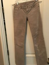 J.CREW Favorite Fit Corduroy Pants 00R Tan