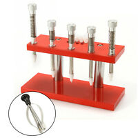 Watch Repair Tool-5 needle Watch Hand Remover Plunger Puller and Set Fitting Kit