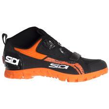NEW Sidi Defender Downhill MTB Cycling Shoes Black/Orange Size 46 EU / 11.2 US
