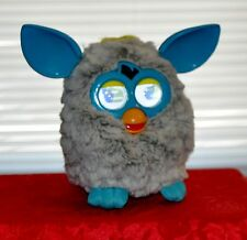 FURBY BOOM 2012 FLUFFY GREY INTERACTIVE HASBRO TOY CLEAN WORKS GREAT