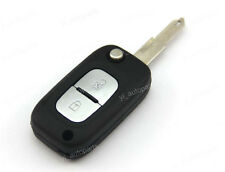 2 Buttons Remote Flip Folding Key Shell Case For Renault Koleos Samsung QM5 2BT
