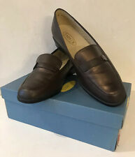 RETRO / VINTAGE WOMENS K SHOES LADY X BROWN LEATHER  UK 6 E