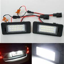 2pc LED License Plate Light for SKODA Octavia 3/Superb B6/Combi/Rapid/Yeti/Fabia