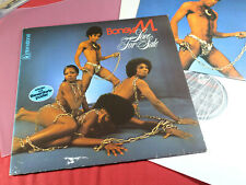 Boney M  LOVE FOR SALE  -  LP Hansa International 28888 OT Germany 1977 + Poster