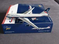 British Airways B747-400 G-BNLY Landor Retro Livery Gemini Model 1:400 GJBAW1857
