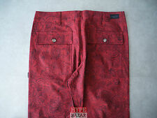 DIAMOND SUPPLY MILITARY PANT NEU BURGUNDY GR:32 DIAMOND SUPPLY CO