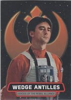 2016 Topps Star Wars Rogue One Mission Briefing #5 Wedge Antilles Rebel Alliance