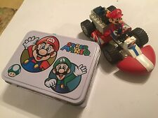 K'Nex Building Blocks Super Mario Figure & pull back & go Mario Kart Mariokart