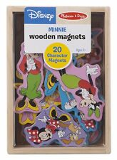 Melissa & Doug Disney Minnie Mouse Wooden Character Magnets