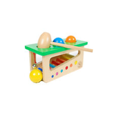 Children Baby Wood Pound Tap Knock Ball Percussion Punch Kids Learning Toys FW