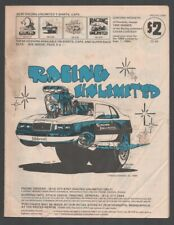 Racing Unlimited Product Catalog 1985-Parts and accessories-T-shirts-patc hes .