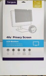 """Targus ASF19WGL-70 4Vu Privacy Filter Clear For 19"""" Widescreen LCD Monitors"""