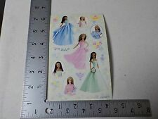 SANDYLION BARBIE DOLLS FORMAL DRESSES STICKERS SCRAPBOOKING A3212