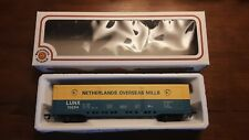 HO Scale Bachmann LUNX 70254 Netherlands Overseas Mills Box Car Train Car