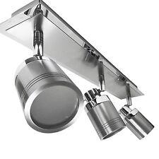 IP44 Modern Chrome Flush Bathroom Ceiling Spot Light Spotlight Bar Zone 1 2 3