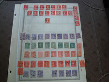FRANCE - 65 timbres obliteres (br1) stamp french