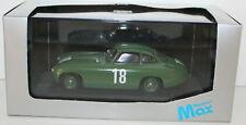Coche de automodelismo y aeromodelismo color principal verde Mercedes