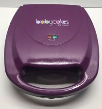 BABYCAKES NON-STICK COATED PIE MAKER IN PURPLE PM-44 Used Good Condition