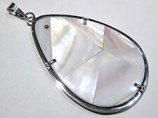 ciondolo madreperla - mother of pearl pendant silver 925%