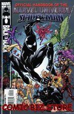 SPIDER-MAN BACK IN BLACK HANDBOOK #1 (2007) 1ST PRINTING BAG & BOARDED MARVEL