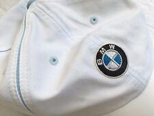 BMW Genuine Lifestyle Ladies Microfiber Cap White - Blue Women's Hat NWT
